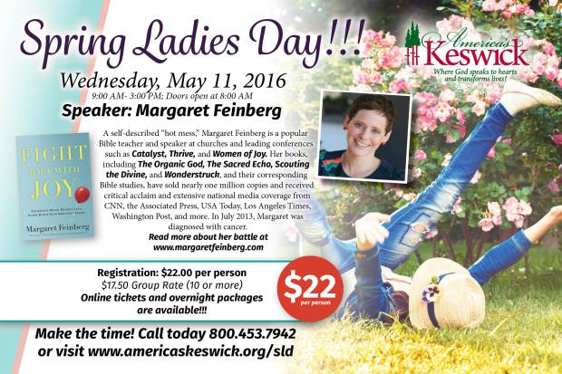 Spring Ladies Day Postcard_Feb 2016